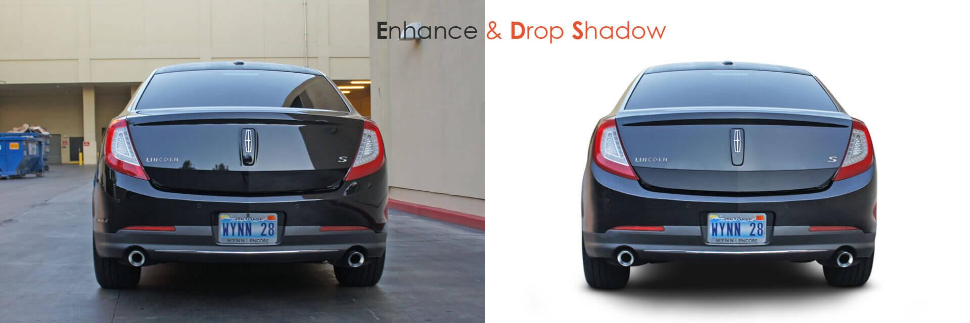 car shadow