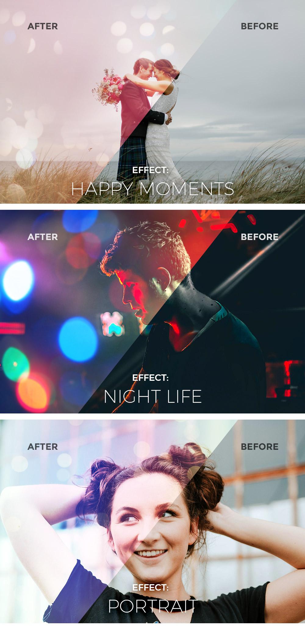 Light & Bokeh Photo Effects