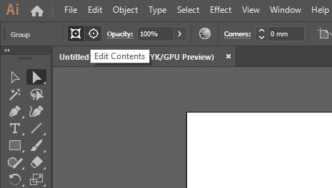 edit contents of gradient mesh