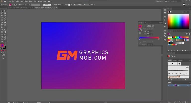 adobe illustrator 2019 interface