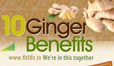 10 Ginger Benefits - Infographics
