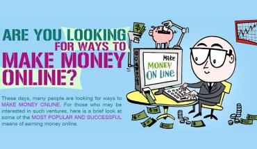 Are You Looking For Ways To Make Money Online - Infographic