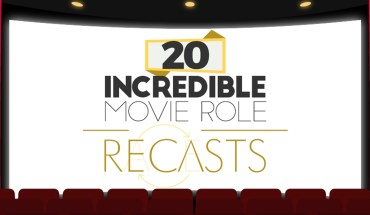 20 Incredible Movie Role Recasts - Infographic