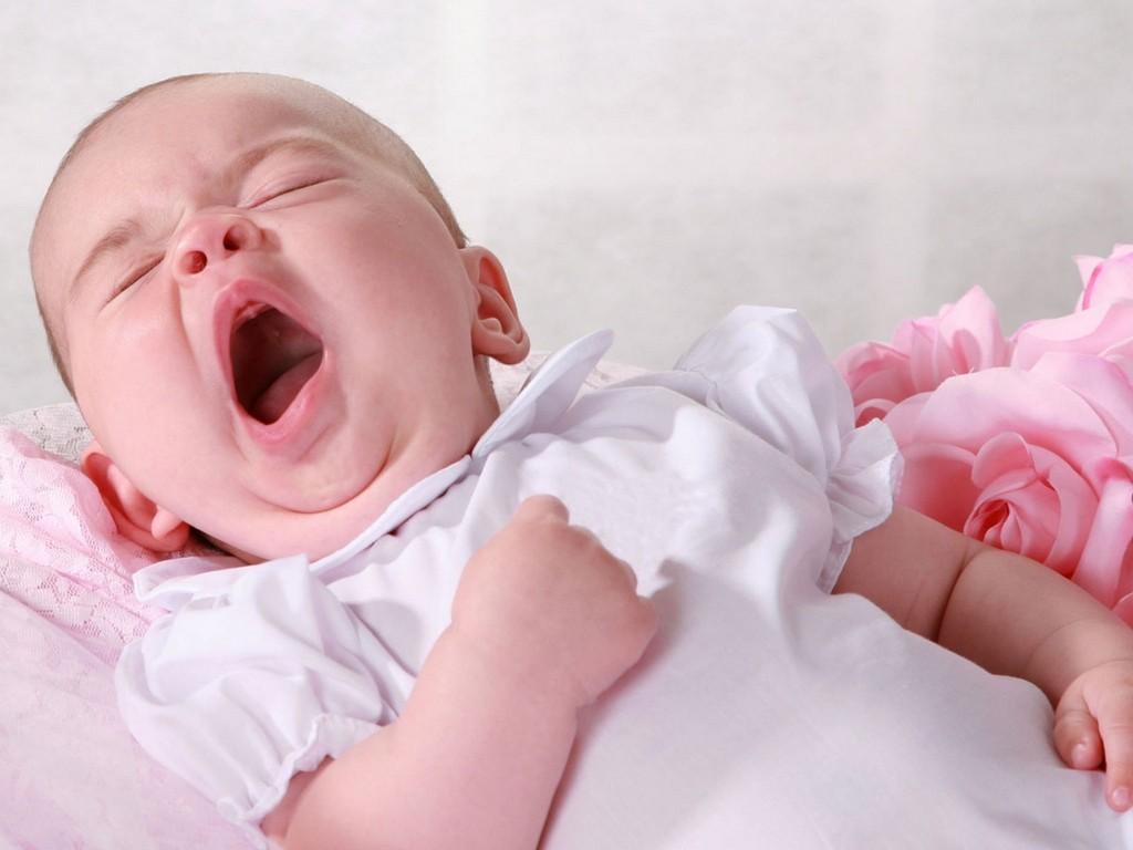 Babies Yawning 12