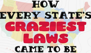 How Every State Craziest Laws Came To Be - Infographic