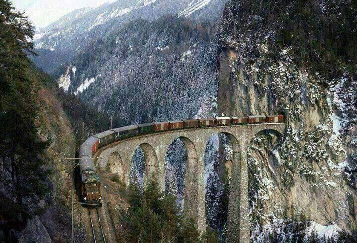 Picturesque Train Journeys Of All Time 12