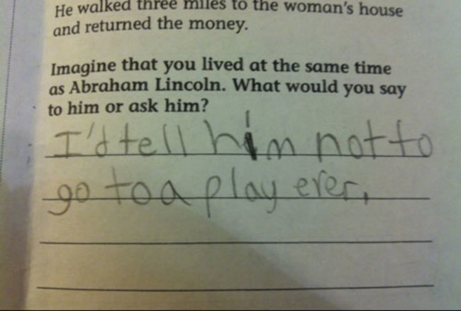 Exam Answers That Wrong But Pure Genuis (9)