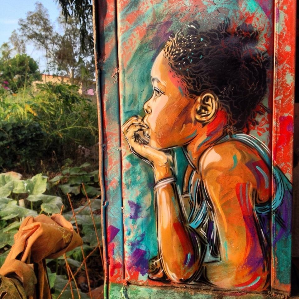 Of The Craziest Street Wall Artwork From Around The World_016