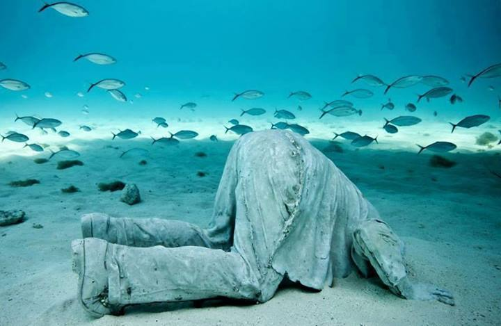 This Underwater Museum In Mexico  (3)