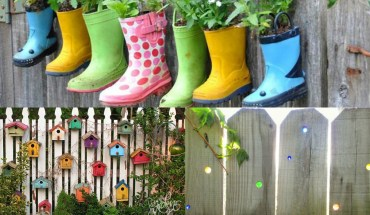 15 Ways To Make Your Garden Fences Look Extraordinary