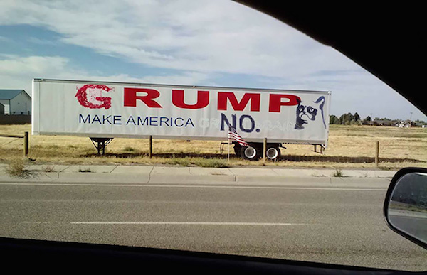 14 Hilarious Political Signs From The 2016 Presidential Campaign (9)