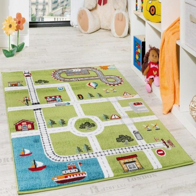 15 Amazing Carpet Ideas For Your Child's Room (9)