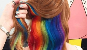Hidden Rainbow Hair Streaks: Do You Dare To?