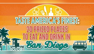 20 Places To Visit For The Best Grub In San Diego - Infographic