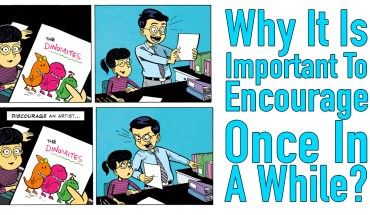 Comic Strip: Why It Is Important To Encourage Once In A While