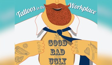 The Good, The Bad, And The Ugly Of Having A Tattoo in The Workplace - Infographic