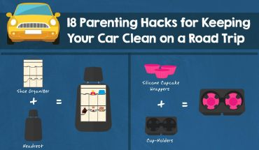 18 Kickass Ways To Keep Your Car Clean - Infographic