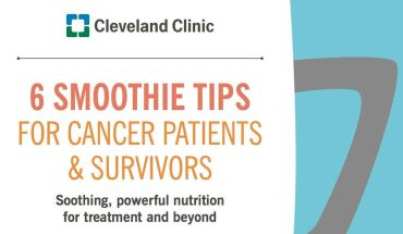 6 Smoothies Every Cancer Patient Should Drink