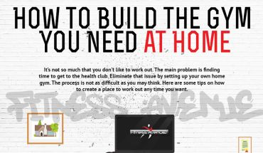 Learn How To Build Your Own Gym - Infographic