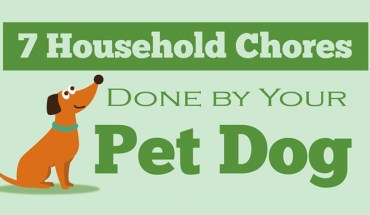 7 Ways Your Pet Dog Can Contribute To Household Chores - Infographic