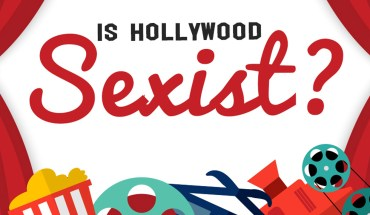 Hollywood is Sexist! - Infographic