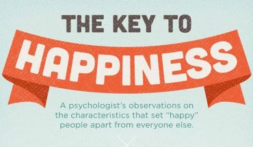 10 Steps To Happiness - Infographic