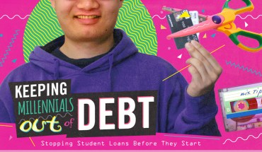Beating Student Loan Stress - Infographic