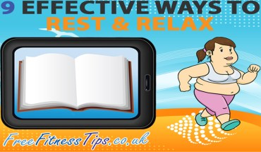 9 Steps To Resting and Relaxing - Infographic