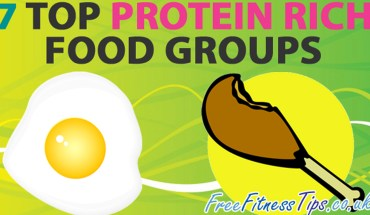 Food Groups That Are The Richest In Proteins - Infographic