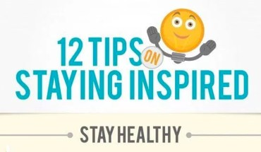 How To Make Sure You Always Stay Inspired  - Infographic