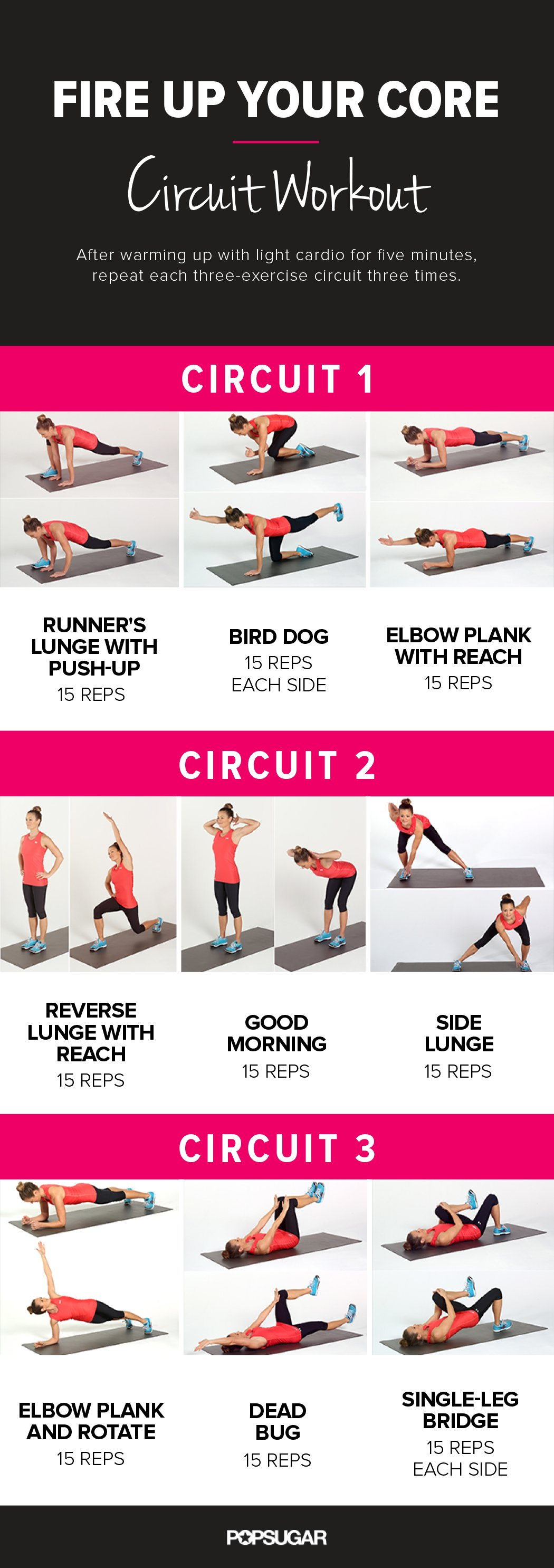 A Killer Work Out Routine - Infographic