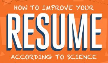 Scientific Ways To Improve Your Resume - Infographic