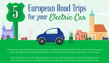What Trips You Can Make With Your Electric Car - Infographic