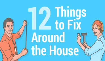 How To Fix Little Accidents Around Your House - Infographic