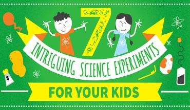 Science Experiments For Kids' Entertainment - Infographic