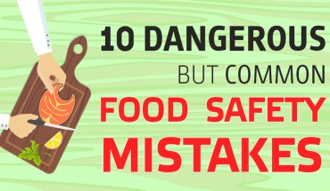 Risks You Take Everyday With Food Safety - Infographic