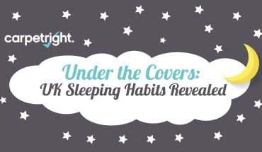 Surprising Sleeping Habits Of U.K - Infographic