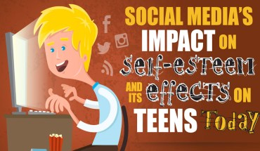 This Is What Socially Media Does To Teens! - Infographic