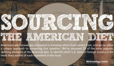 Discovering The Origins Of The American Diet - Infographic