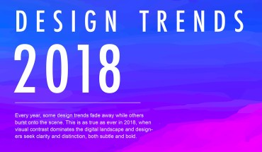 Digital Design: Top Trends for 2018 - Infographic