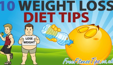 Weight Loss and Diet Tips in a Nutshell - Infographic