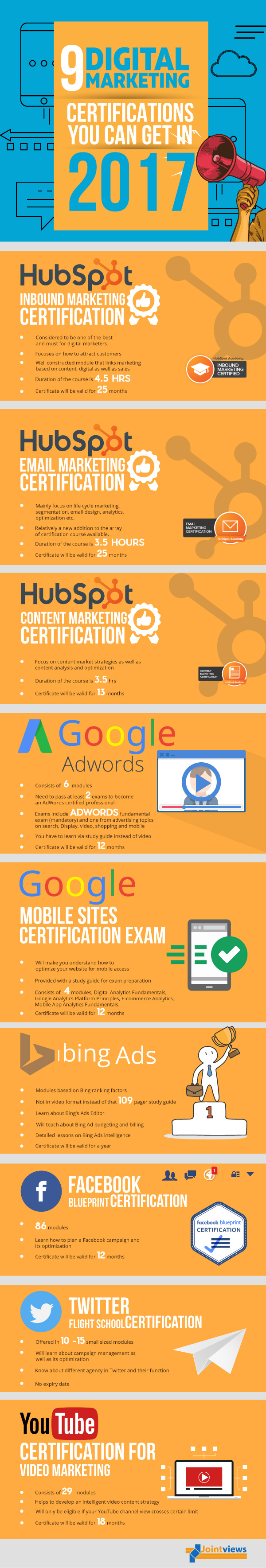 Why You Must Get Digital Marketing Certification - Infographic