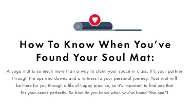 How to Find Your Soul Mat - Infographic