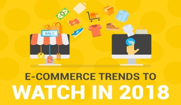 E-Commerce and Evolving Trends for 2018 - Infographic