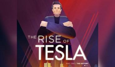 History of Tesla: The Origins - Infographic