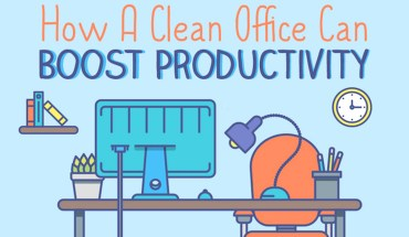 Want to Boost Office Productivity? Start a Cleanliness Drive! - Infographic
