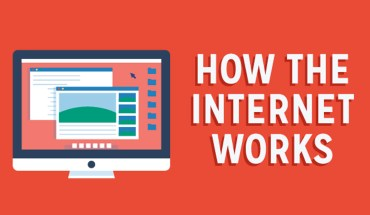 How We Use the Internet to View the Web - Infographic