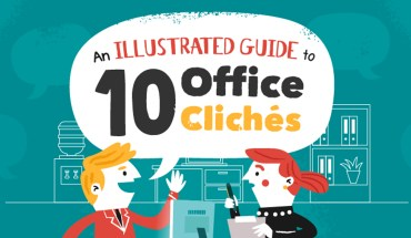 What If Typical Office Clichés Were Taken Literally: A Fun Pictorial Version - Infographic