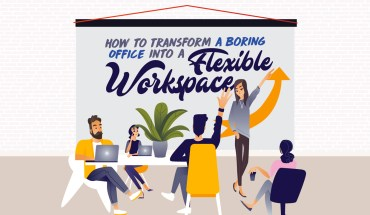 How to Create Flexible and Collaborative Open Workspaces - Infographic