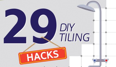 The Perfect Tiling Job: 29 DIY Tiling Hacks and Tips - Infographic
